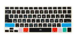 Logic Pro X Hot Shortcut key Keyboard Cover Skin For Macbook
