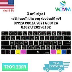 Logic Pro X Hotkey Silicone Keyboard Cover Skin For Macbook
