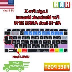 Logic Pro X Shortcut Silicone Keyboard Cover Skin For Mac Ai