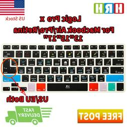 Logic Pro X Shortcuts Keyboard Cover Silicone Skin for Mac A