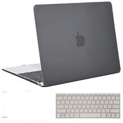 "Macbook 12"" Hard Shell Case Shockproof Keyboard Cover Screen"