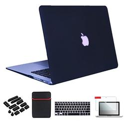 Se7enline MacBook Air Case Cover 5 in 1 Bundle Soft-Touch Pl
