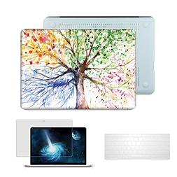 "Macbook Pro 13"" with Retina Case,Anrain Soft-Skin See Throug"