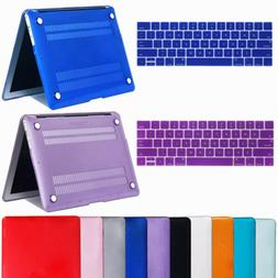 "For Macbook Air 11"" Air 13 inch Rubberized Hard Case Clear L"