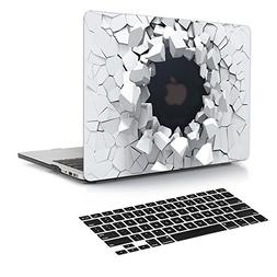 Dongke MacBook Air 13 Case Model A1466 / A1369 with Black Ke