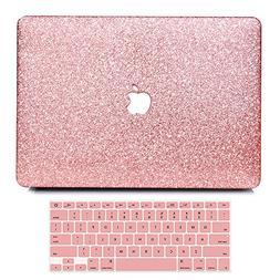 """B BELK-MacBook Air 13"""" Case,2 in 1 Bling Crystal Smooth Ultr"""