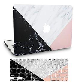 KEC MacBook Pro 13 Case 2017 & 2016 w/ Keyboard Cover Plasti