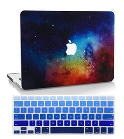 KEC MacBook Air 13 Inch Case with KeyBoard Cover Plastic Har