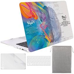 Sykiila for MacBook Air 13 Inch Case  Hard Cover 4 in 1 Foli
