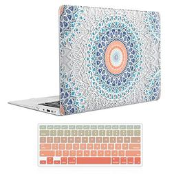 MacBook Air 13 Inch Case ,iCasso Rubber Coated Soft Touch Ha