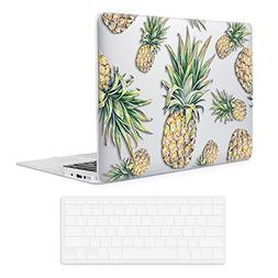 iCasso Rubber Coated Soft Touch Hard Shell Case with Keyboar