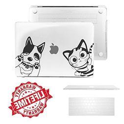"""Macbook Air 13"""" Case, IC ICLOVER  Unique Cartoon Pet Design"""