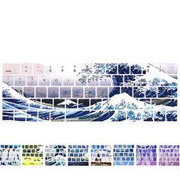 YMIX MacBook Keyboard Cover - Washable Silicone Keyboard Cov
