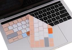 Premium MacBook MAC OS Shortcuts Keyboard Cover for NEWEST M