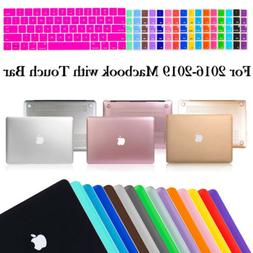 """Macbook Pro 13 15"""" Touch Bar 2016 Hard Rubberized Case Cover"""