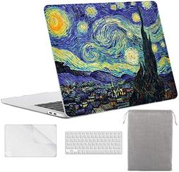 Sykiila for MacBook Pro 13 Inch with Touch Bar Case  4 in 1