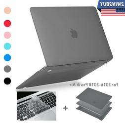 For Macbook Pro Air 13 Inch Case Hard + Keyboard Cover Touch