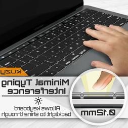 Kuzy -MacBook Pro Keyboard Cover Silicone for MacBook Pro 13