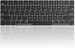 Kuzy - MacBook Pro Keyboard Cover with Touch Bar for 13 and