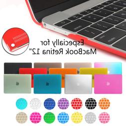 "For MacBook Retina 12"" Inch A1534 Rubberized Hard Case &Sili"