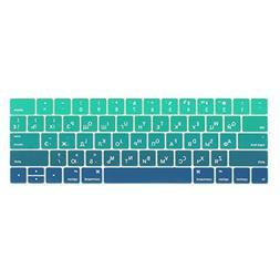 Batianda Russian Alphabet New MacBook Pro 13 15 inch 2017 &
