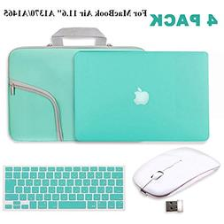 "Turquoise Matte Hard Case for MacBook Air 11.6""-IC ICLOVER R"