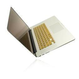 "METALLIC GOLD Keyboard Cover for NEW Macbook Pro 15"" A1398"