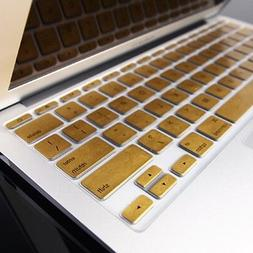 "METALLIC GOLD Keyboard Cover Skin for Old Macbook Air 11"" A1"