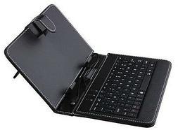 """USB Keyboard Case Cover for 8"""" Samsung Galaxy Tab 4 8.0 SM T"""