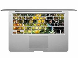 New Cool Macbook Keyboard Decal Sticker Cover Skin Pro 13 15