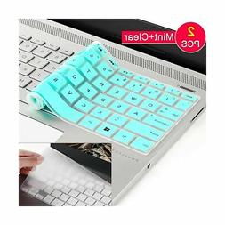 2 Laptop Keyboard Cover Protector Skin For Hp Pavilion Noteb