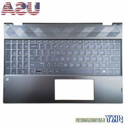 NEW HP PAVILION X360 15T-CR 15-CR Upper Case Palmrest Cover