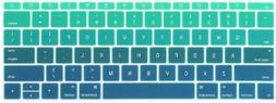 Batianda Ombre Color Keyboard Cover For New Macbook Pro 13 I