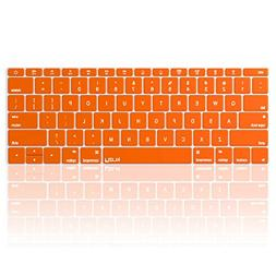 Kuzy ORANGE Keyboard Cover for MacBook Pro 13 inch A1708  Re
