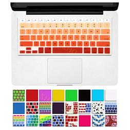 DHZ Orange Ombre Keyboard Cover Silicone Skin for 2015 or Ol