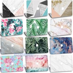 Painting Plants Marble Matte HARD case Cover For New Macbook