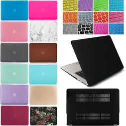 Plastic Hard Case Shell & Keyboard Cover For Apple MacBook A