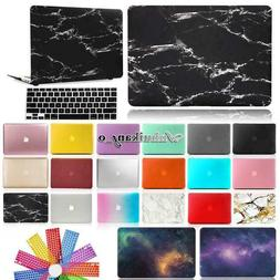 Plastic Hard Case Shell + Keyboard Cover For Apple MacBook W
