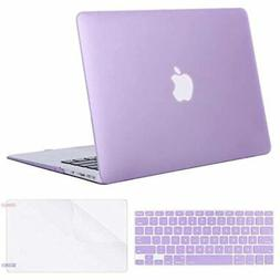 Plastic Hard Shell Case &amp Keyboard Cover Screen Protector