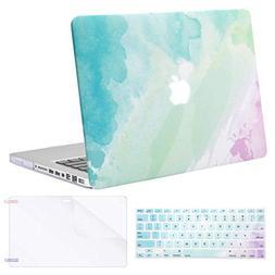 MOSISO Plastic Pattern Hard Case & Keyboard Cover & Screen P