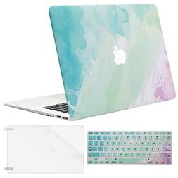 Mosiso Plastic Pattern Hard Case Shell with Keyboard Cover w