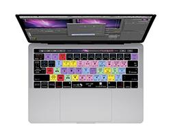 Premiere Pro Keyboard Cover for MacBook Pro  w/ Touch Bar