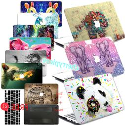 Pretty Animal Paint Hard Rubberized Case Cover For Macbook L