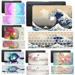 Pretty Matched Printing Hard Rubberized Case+ Keyboard Cover