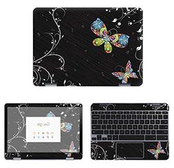 decalrus - Protective Decal Butterfly Skin Sticker for Samsu
