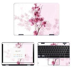 decalrus - Protective Decal Floral Skin Sticker for Samsung