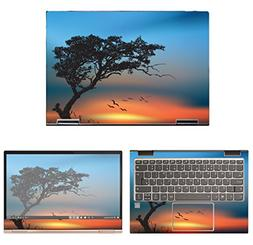 decalrus Protective Decal Sunset Skin Sticker for Lenovo Yog