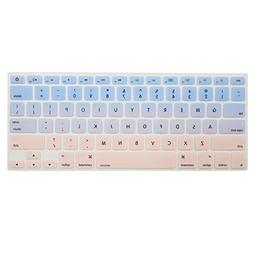 MOSISO Protective Keyboard Cover Skin Compatible MacBook Air