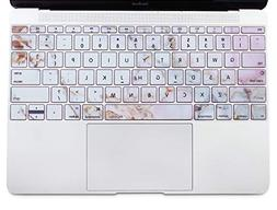 MOSISO Protective Keyboard Skin Compatible MacBook 12 Inch w