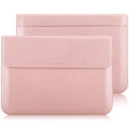 "MoKo 13.3"" Laptop Sleeve Bag, PU Case New MacBook Pro  13.3"""